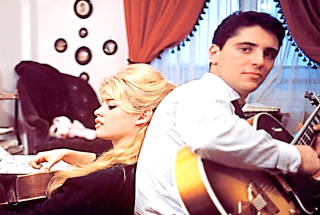 Sacha Distel and Bridget Bardot