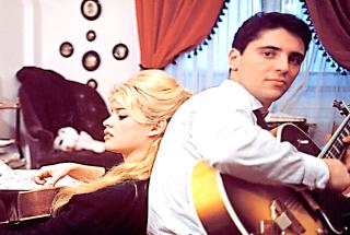 Sacha Distel and Bridget Bardot